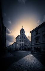 Schattenspiel (RA LO Fotografie) Tags: leica m voigtländer jihlava czech bw