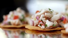 Making SOHO TACO's Signature Ceviche (SohoTaco.com) Tags: tacocatering tacocartcatering ceviche gourmetfoodtruck appetizers redsnapper cooking recipe foodphotography foodporn
