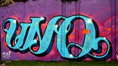 graffiti in Eindhoven (wojofoto) Tags: eindhoven nederland netherland holland berenkuil stepinthearena wojofoto wolfgangjosten graffiti streetart uno