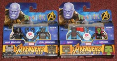 MiniMates - Avengers Infinity War, Walgreens 2 (Darth Ray) Tags: minimates marvel avengersinfinitywar walgreens exclusives wave2 avengers infinity war wave 2 warmachine cullobsidian machine cull obsidian drax gamora