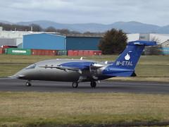 M-ETAL Piaggio Avanti P-180 Corporate (Aircaft @ Gloucestershire Airport By James) Tags: gloucestershire airport metal piaggio avanti p180 corporate egbj james lloyds