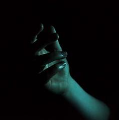 (josie.bell) Tags: hand arm fingers grasp blue colour black lighting shadow