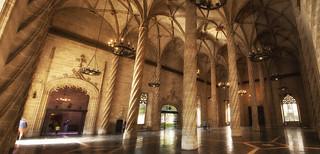 LONJA DE LA SEDA The Silk Market