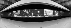 Sergei Eisenstein (genelabo) Tags: proof hamburg deichtor hallen sergei eisenstein slow motion panorama iphone black white schwarz weiss stitch projection filmklassiker widescreen breitbild cinematographie