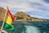 Lago Titicaca (RunningRalph) Tags: flag isladelsol lago lagotiticaca lake laketiticaca meer sunisland titicaca titicacameer vlag departamentodelapaz bolivia bo