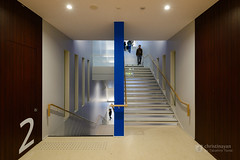 Dokkyo University, West Building (獨協大学 創立50周年記念館) (christinayan01 (busy)) Tags: architecture building perspective university interior indoor space