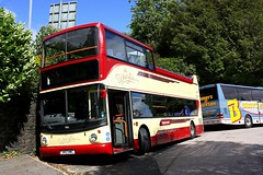 Open Top and Rail Replacement at Windermere (Chris Baines) Tags: dennis trident alexander alx 400 s812 bcw