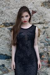 Castle beauty (piotr_szymanek) Tags: victoria victoriac woman young skinny portrait dress transparent outdoor castle czocha face eyesoncamera 1k 20f 50f 5k 100f 10k 20k 30k