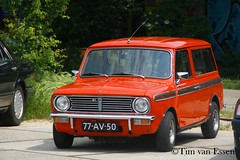 Mini Clubman Estate - 1973 (timvanessen) Tags: 77av50 2018 youngtimer event amsterdam automatic automaat aut