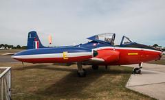 EGLK - Hunting Jet Provost T3 - XW325 (lynothehammer1978) Tags: eglk bbs blackbushe blackbusheairport xw325 huntingjetprovostt3