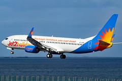 G-JZHK_04 (GH@BHD) Tags: gjzhk boeing 737 738 737800 b737 b738 ls exs jet2 jet2holidays ace gcrr arrecifeairport arrecife lanzarote airliner aircraft aviation