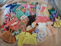 Pretty lil dresses...... (simplychictiques) Tags: rosieegelutiecollection rgdresses dollwardrobe dollclothing rg rosieegelutie tryingtodownsizestill pretty wespoilourgirls