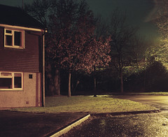 St Lucia Park (Dan Parratt) Tags: mediumformat film kodak kodakportra800 portra portra800 grain filmgrain mamiya mamiyarz67 rz67 6x7 filmscan 120mm filmphotography analog analogue analoguephotography analogphotography newtopographics newtopography banal urbanscape urbanography empty lightpollution