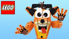 More Amazing Lego Creations !!! (afro_man_news) Tags: lego moc custom amazing pictures star wars food tron legacy droid inside out anger sesame street cookie monster spiderman homecoming vulture marvel crash bandicoot game wallpaper wallpapers shark images chicken millennium falcon creations