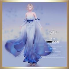 (AD) -AZUL- Mixa (mami_jewell) Tags: azul gown dress formal flexi mesh mvw missvirtualworld bosl thebestofsl mixa brasil final sl secondlife game virtual avatar fashion brazil