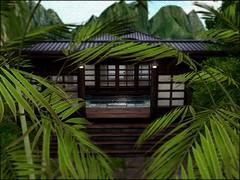 Japan style (Shara Thiva) Tags: second life lost spirit retreat japan style house sl landscape