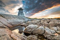 Terence Bay Nova Scotia (angie_1964) Tags: terence bay nova scotia ns lighthouse sunset rocks sky cloud nature landscape nikond850