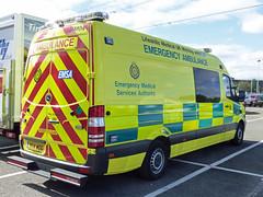 YK14 WGG (Emergency_Vehicles) Tags: yk14wgg emsa emergency medical service authority ambulance