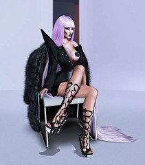 Movin' On Up . (Venus Germanotta) Tags: secondlife fashion fierce azoury sickening azealiabanks music vogue hautecouture avantgarde highfashion couture plastic fur luxury luxurious chic glamour fabulous badbitch popculture 80s glam gorgeous longhair lavender lavenderblonde aesthetic purple purplehair pastels light dark contrast blog blogger blogging blogpost class levelup slay style stylish diva drag queen cosmopolitan heels event spring photoshop graphicdesign design edit digitalart lighting perspective photography shoulderpads gaga mystyle sleek beauty stunning dressedtokill fashionista pose model supermodel leather risque sexappeal seductive photoshoot colour