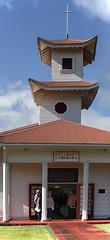 United Community Church (wyojones) Tags: hawaii hilo church unitedcommunitychurch tileroof cross offset