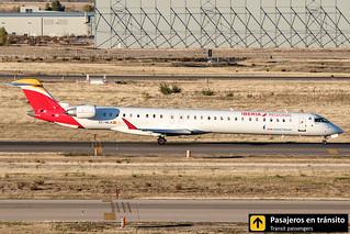 CRJ 1000 Air Nostrum Ría de Vigo EC-MLN