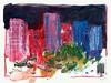 Wolfram Zimmer: Chicago, Apartments (ein_quadratmeter) Tags: wolframzimmer kunst konzeptkunst objektkunst meinzimmer meinezimmer freiburg burg kirchzarten ausstellung ausstellungen exhibition exhibitions malerei aus der palette painting from chicago mies van rohe apartments