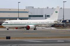 HZ-102   Boeing 737-8DP(BBJ2)   Royal Saudi Air Force (cv880m) Tags: newyork kennedy jfk kjfk aviation aircraft jetliner airplane airliner bizjet executive military hz102 boeing 737 738 737800 7378dp bbj bbj2 boeingbusinessjet winglet saudi airforce royalsaudiairforce saudiarabia crownprince