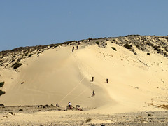 Giù dalla duna! – Down from the dune! (Roberto Marinoni) Tags: duna dune sabbia sand fuerteventura canarie isolecanarie canaryislands spagna bicicletta bicycle