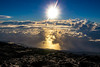 Levé du soleil au sommet du Piton de la Fournaise (Olii_) Tags: reunion pitondelafournaise volcan volcano sunrise sun soleil levédusoleil sea mer nuage cloud moutain montagne