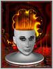 FIRE WOMAN (Artista Franzi) Tags: conceptual abstract mixedmedia abstractdigitalart art womens fineart phõtosgrápheinartist surrealism digitalart photomanipulation metaphysics surreal