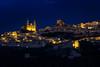 Hora azul en Olvera (flamesay) Tags: cadiz olvera horaazul rutadelospueblosblancos blue hour andalucia flamesay canon sierra de pueblo andaluz