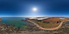 Carlingheugh Bay - Arbroath - Aerial Photosphere 21-04-2018a (G Davidson) Tags: aerial 360 angus panorama scotland 2018 carlingheughbay seaton pjstirling farm coast sea