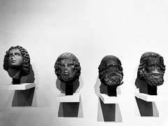 Heads of apostles (g a r c í a) Tags: sculptures heads strasbourg apostles