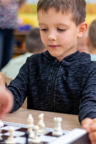 V Turniej Szachowy o Mistrzostwo Przedszkola Miejskiego Nr 1-34