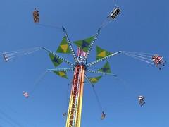 Wheaton, IL, Carnival, Swing Ride (Mary Warren 11.0+ Million Views) Tags: wheatonil carnival colorful sky ride swing