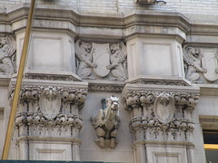 Street Level Gargoyle Old NY Times Building NYC 3967 (Brechtbug) Tags: gargoyle former new york times building square 2018 city tower architecture midtown manhattan 06182018 newspaper gothic news paper towers urban now yahoo headquarters internet business search engine computer company june spring summer art buildings old street level ny nyc
