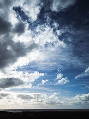 Icelandic Clouds (Feldore) Tags: iceland icelandic clouds cloudscape dramatic horizon sea sky water