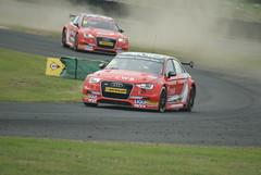 BTCC Both AMD Audis (mwclarkson) Tags: btcc croft circuit touring cars clio cup f4