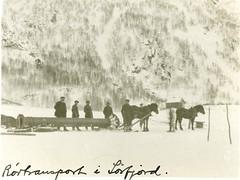 AiN.NA074.0124 (Arkiv i Nordland) Tags: norcem nordland portland cementfabrik 100 år jubileum kjøpsvik arkiv hest vinter snø