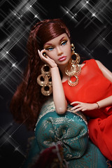 Attractive poppy (RockWan FR) Tags: goldenholiday poppyparker fashionroyalty attractive integritytoys