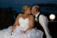 Sunset Kiss (Caitlin Gregory Photography) Tags: wedding sunset kiss