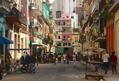 Cuba- La Habana (venturidonatella) Tags: cuba lahabana habana havana lavana isola island caraibi caribbean citta city case houses gentes persone people street strada streetlife streetscene colori colors nikon nikond500 d500