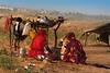 Kalbelya camp.  Pushkar Mela. Rajasthan (Tito Dalmau) Tags: kalbelya camp women children camls fair mela pushkar rajasthan india
