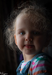 Ruby (Wayne Cappleman (Haywain Photography)) Tags: hampshire aldershot window light available baby rainbow daughter child photographer portrait photography haywain cappleman wayne