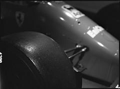 (Laszlo_Gerencser) Tags: maranello museo ferrari mamiya sekor c 1980 ilford xp2 super 400 400800 c41 push 1 push1 vintage car oldtimer bw race racecar f1 formula