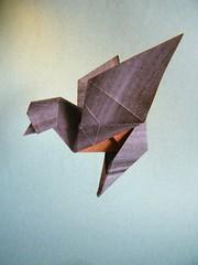 Pajarillo - Edwin Corrie (Rui.Roda) Tags: origami papiroflexia papierfalten bird oiseau pássaro pajarillo edwin corrie