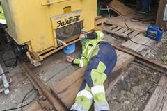 Fairmont rail speeder (klevsand) Tags: njk fairmont rail speeder norsk jernbane klubb