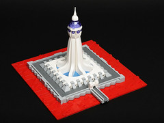 Lava Citadel (Sheo.) Tags: lego moc microscale tower