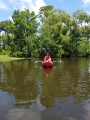 Swamp Kayaking (pr0digie) Tags: neworleans swamp kayak kayaking lake water nate maurepas