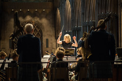 an evening concert at lichfield cathedral (Nathaniel Macrae) Tags: music musicconcert concert orchestra orchestralmusic lichfield lichfieldcathedral candid portrait portraitphotography